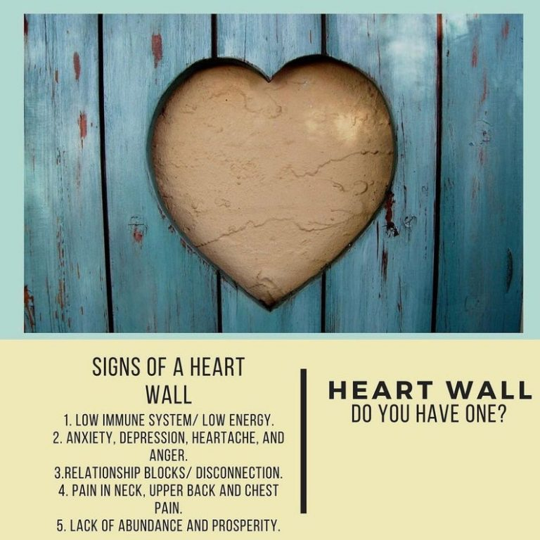 clear heart wall