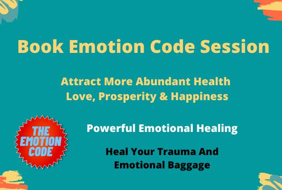 book emotion code session
